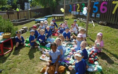 Nursery Sponsored Toddle and Teddy Bear's Picnic