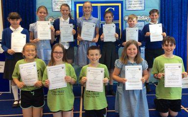 Whickham School Transition Awards: Monday 2nd July