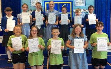 Whickham School Transition Awards: Monday 2nd July