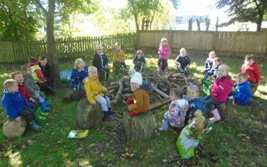 Nursery go for an Autumn walk