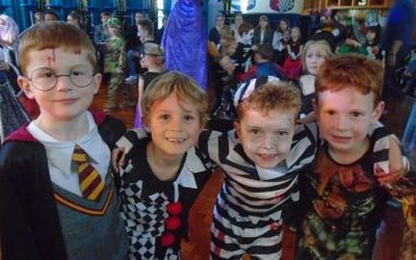 Spook-tacular Halloween Disco