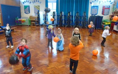 Our spooky week in Nursery!