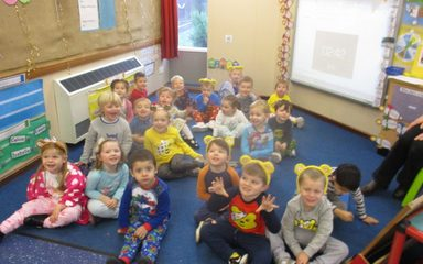 Nursery help raise money for Children In Need