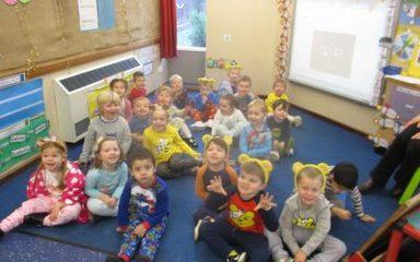 Nursery help raise money for Children In Need