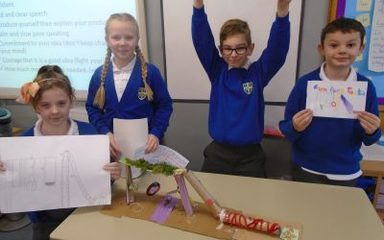 Year 5 Designers and Entrepreneurs!