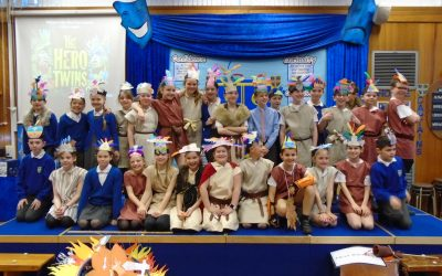 The Mayan Heroes of Year 5