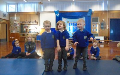 Nursery take to the stage!
