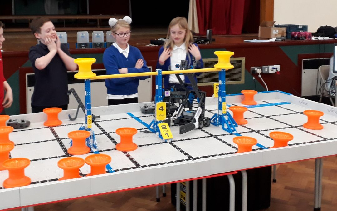 Robotics Team Compete for the First Time