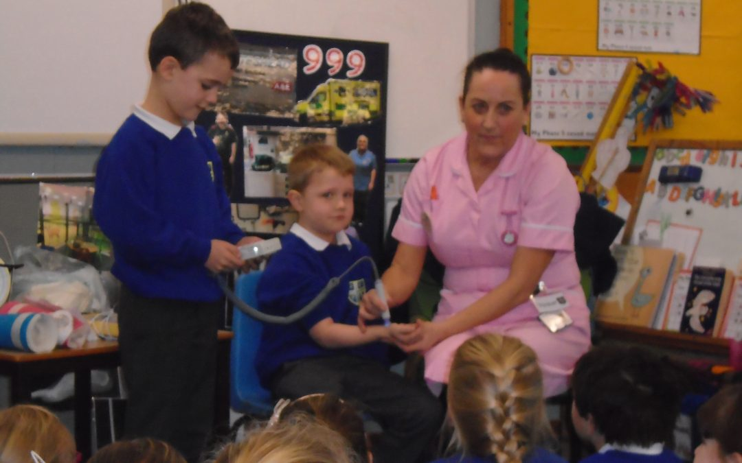Nurse Wendy Visits Year One