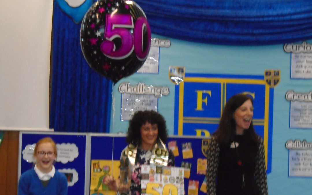 Mrs Petrie's BIG BIRTHDAY