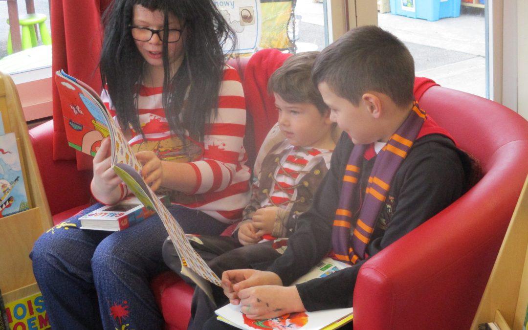 World Book Day in Nursery