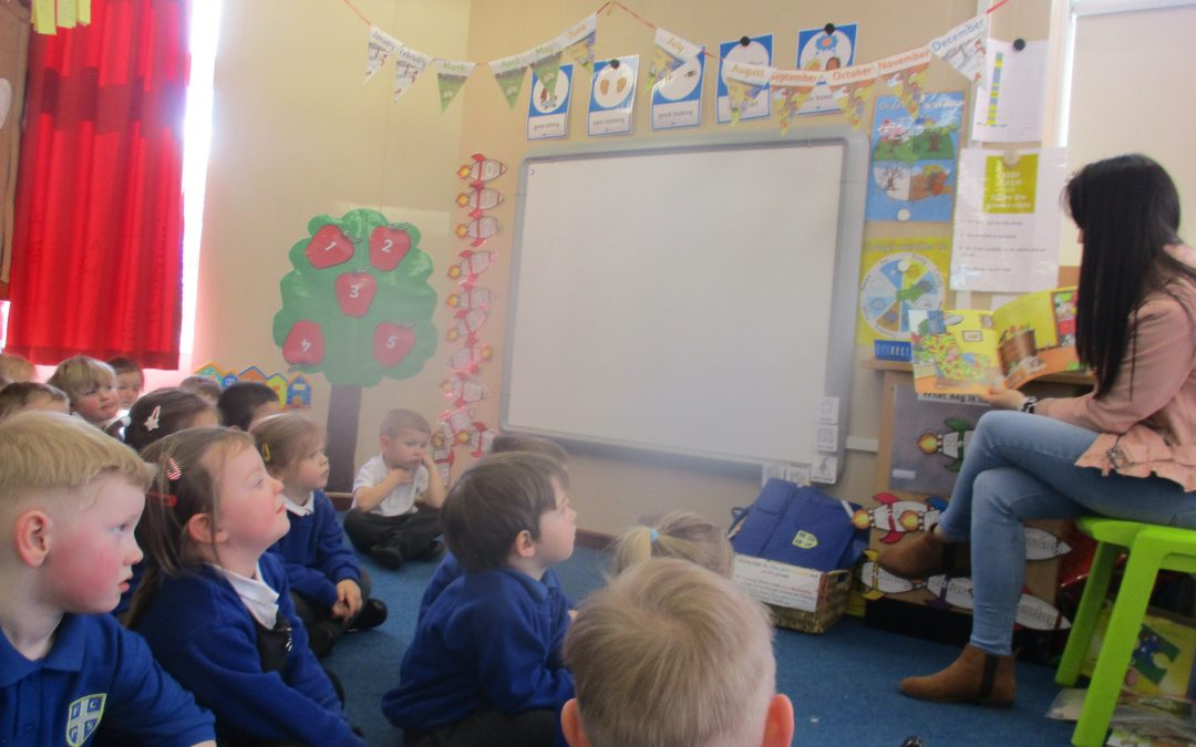 Our Mystery Reader this week