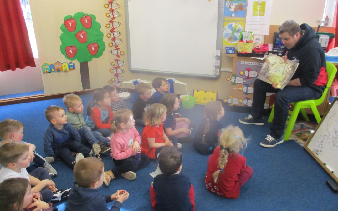 More Mystery Readers in Nursery