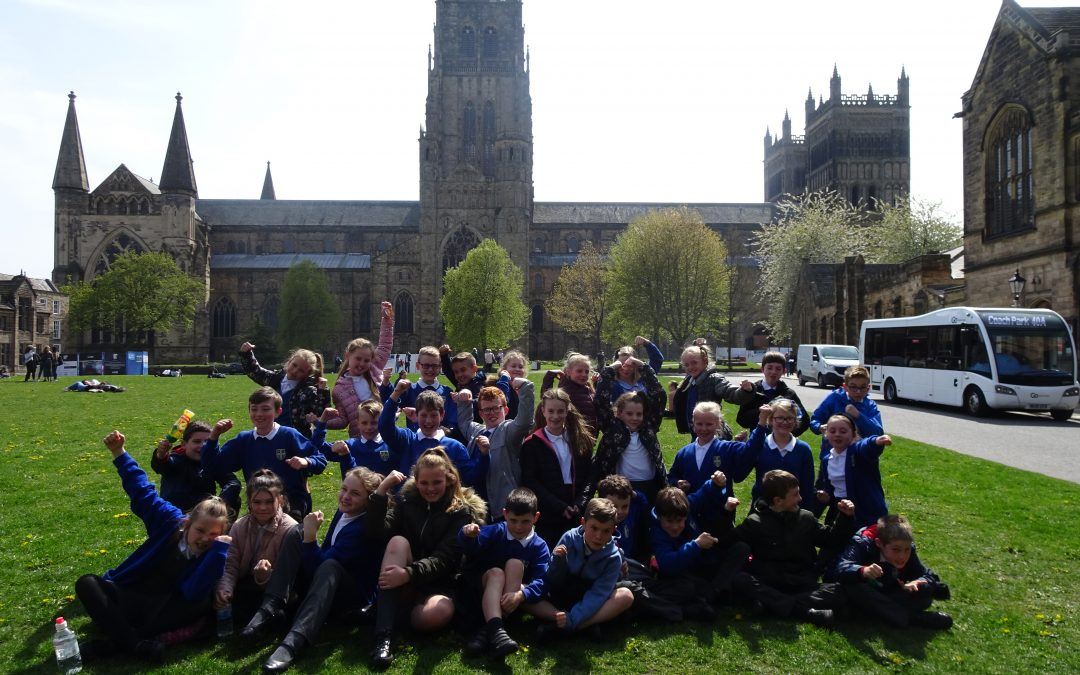 Year 5's Fantastic Viking Visit to Durham