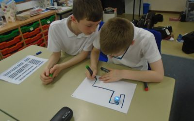 Ozobots in Year Five