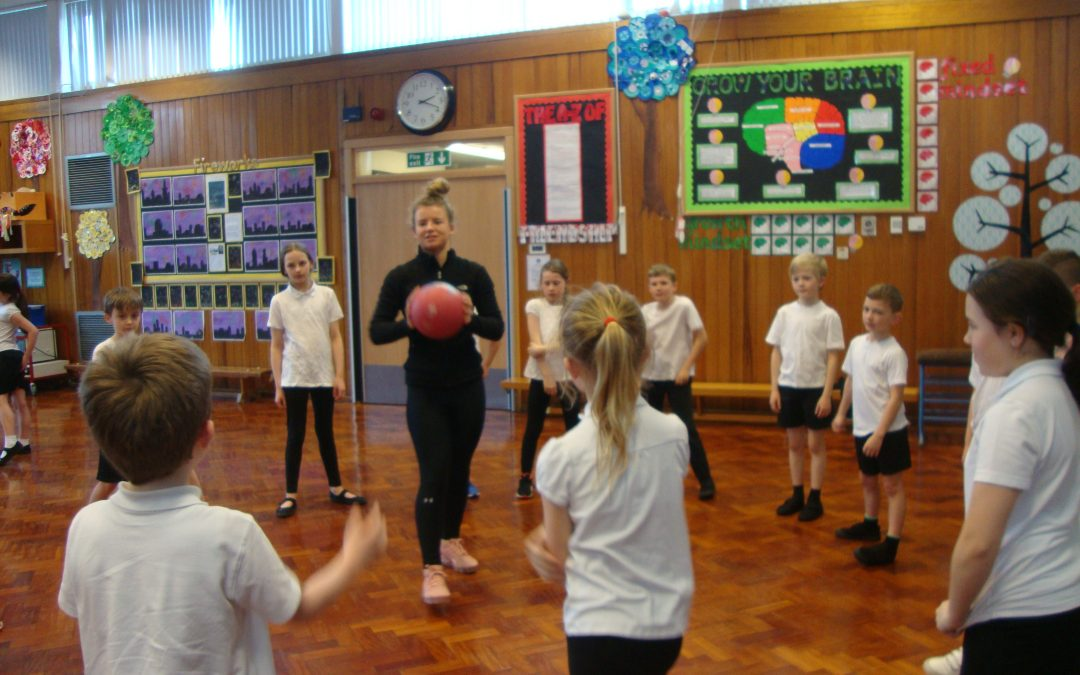 Netball Coaching with the Sports Leaders
