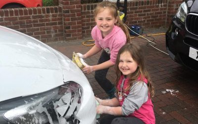 Fellside PTA Great Car Wash Weekend