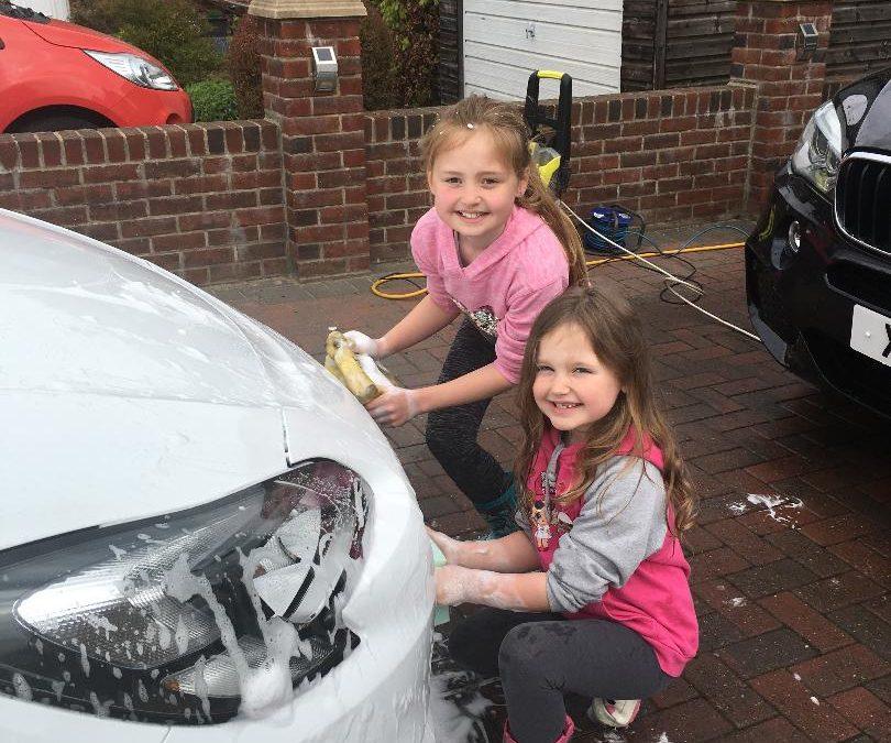 Fellside PTA Great Car Wash Weekend