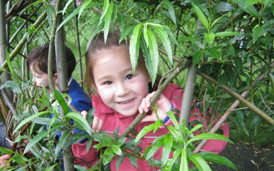 Nursery trip to Gibside