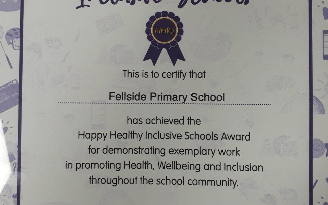 Happy, Healthy, Inclusive School Award