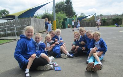 Goodbye to the Year 6 and Reception Class Buddies