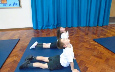 Year Three build on their yoga prowess