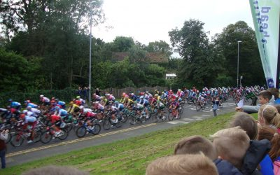 The Tour of Britain Comes to Whickham