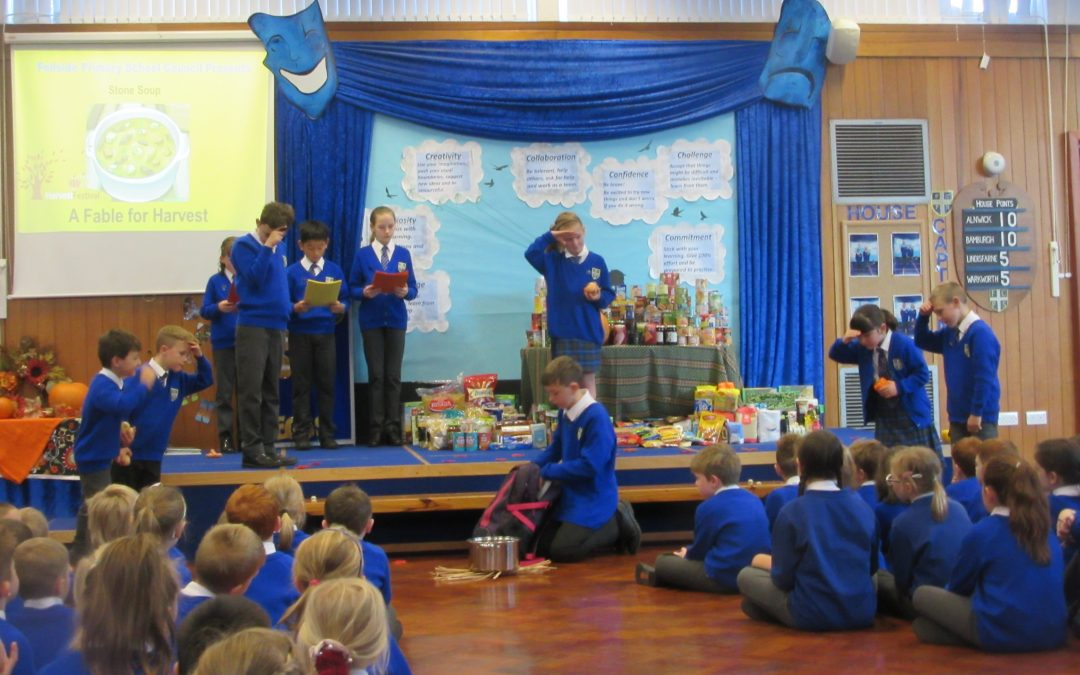 School Council Members Present 'Stone Soup' – a Harvest Fable